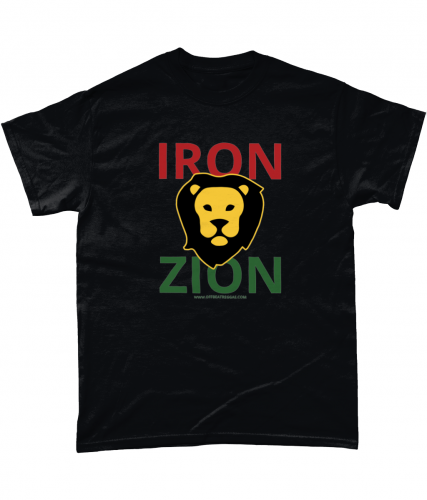 Iron Lion Zion – Front+Back | Unisex T-Shirt (Various Colours)